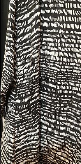 Robe chemise forme trapèze avec poches a