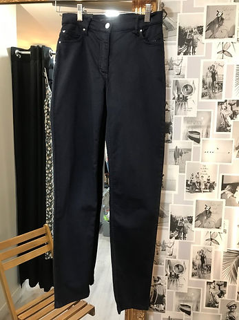 Pantalon bleu Taille 36 betty Barclay ph
