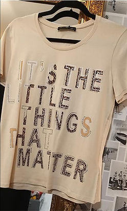 Tee shirt coton magasin elegance acigne.