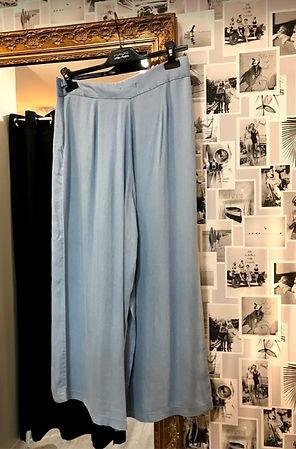 Pantalon bleu fluide photo1.jpg