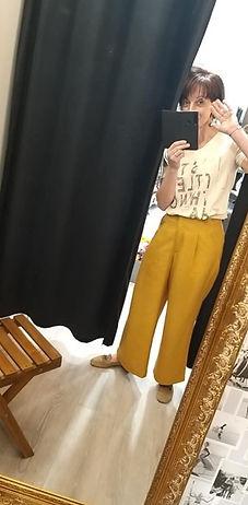 Pantalon moutarde fluide.jpg