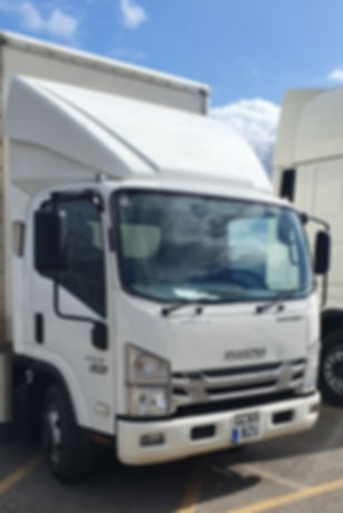 Lorry/truck courier guldfor