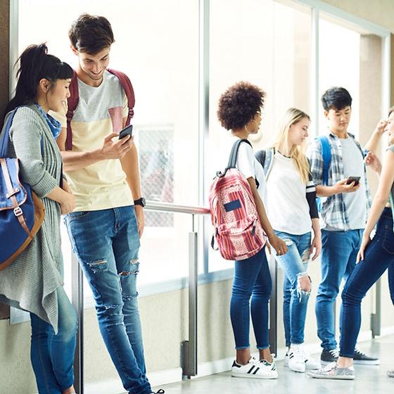 Corridoio della scuola