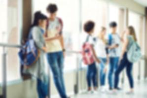 Couloir de l'école