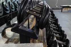 Zona de pesas