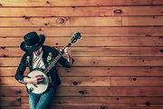 Man with Banjo