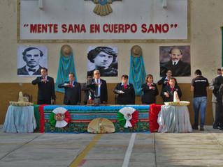 CEREMONIA REVOLUCIÒN MEXICANA