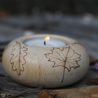 """Kerzenhalter """"Herbst"""""""