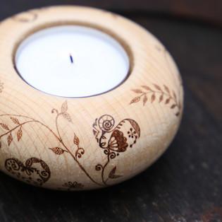 """Kerzenhalter """" Liebe"""" für Duška"""