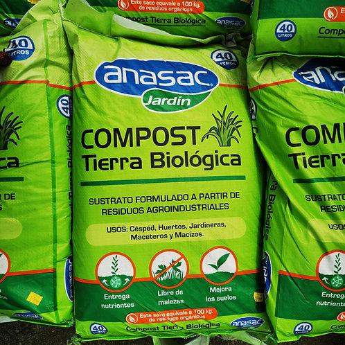 TIERRA COMPOST - ANASAC - 40 litros
