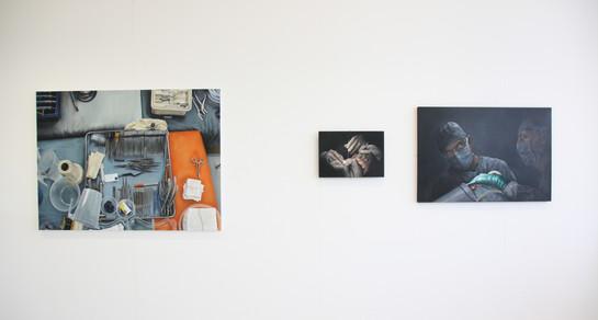 Degree Show Exhibition Installation 2016