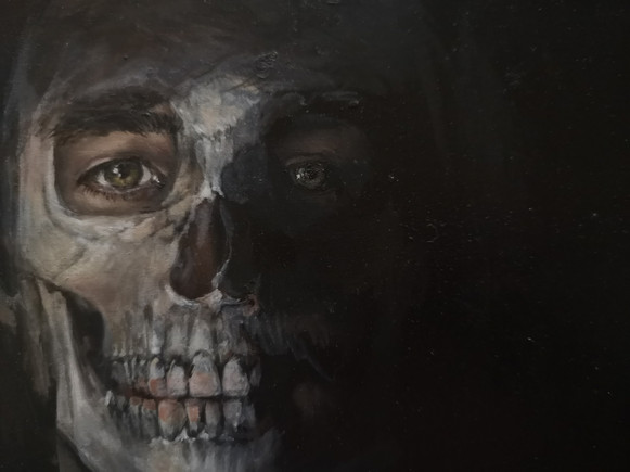 Detail from Anatomical Family Painting No.3