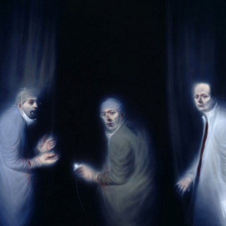 Pieces that Inspired me: Ken Currie's The Three Oncologists