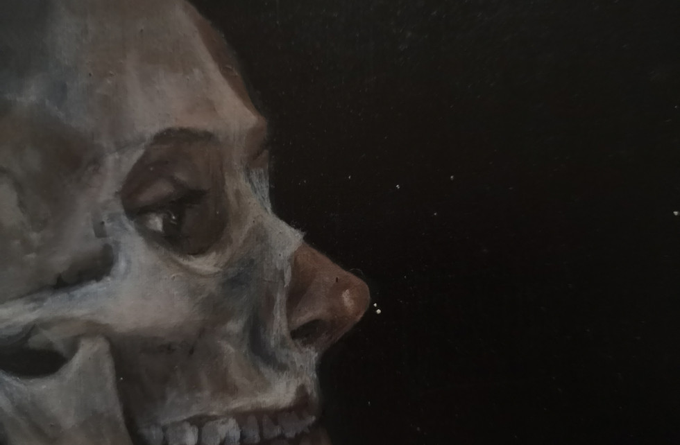Detail from Anatomical Family Painting No.2