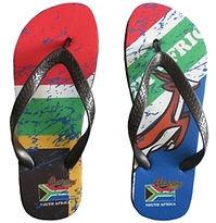 Custom flip-flops and clothing
