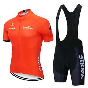 Custom cycling clothing