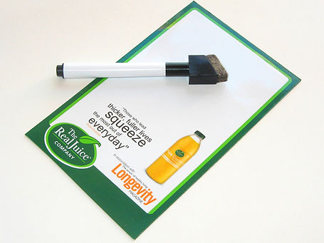 Magnetic Write and Wipe white board