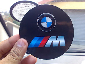 Magnetic Licence disc holder
