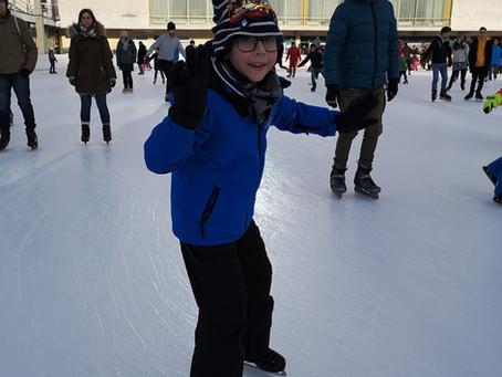 Eislaufen im Wiener Eislaufverein