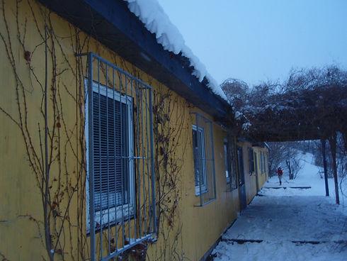 Das Gelbe Haus am ASP Rennbahnweg.