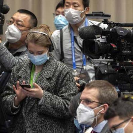 Journalists' Working Conditions Hit Hard by Coronavirus