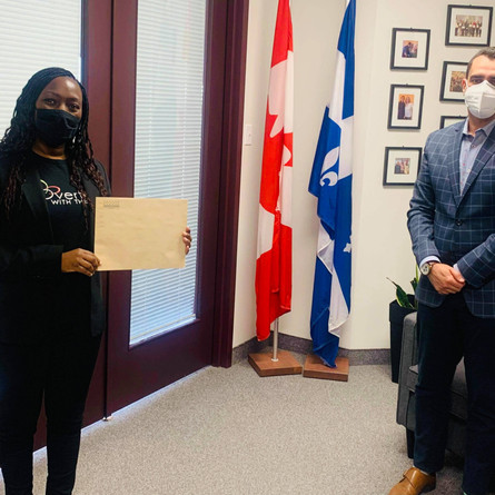 """MNA Monsef Derraji supports """"Beyond February"""" project with $10,000 Volunteer Support Program grant"""