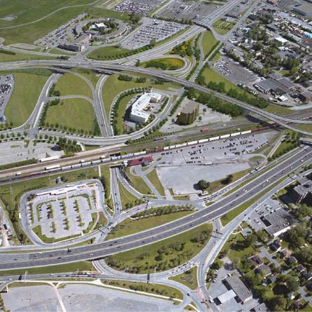 Dorval roundabout closure until Nov. 30
