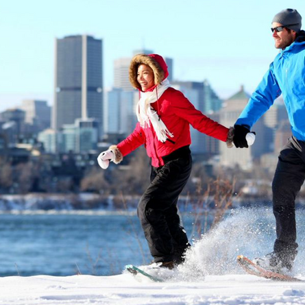 The Best Places to Snowshoe in Montreal's West Island
