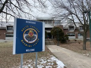 West Island Shelter, Drop-in Warming Center Opening