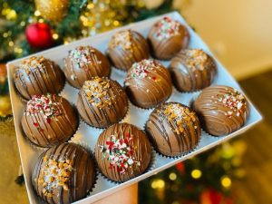 Hot Chocolate Bombs - the treat of the season can be purchased from these local vendors