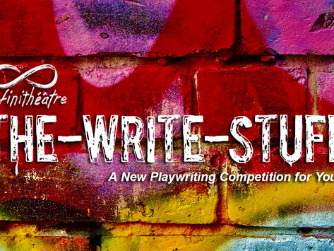 THE-WRITE-STUFF First Annual Youth Playwriting Competition