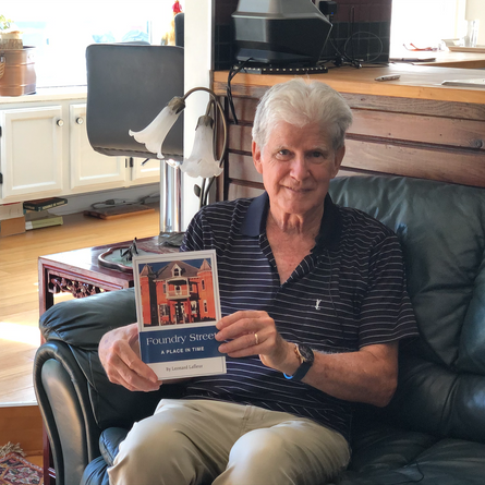 West Island author releases book of short stories recounting his life in Lachute