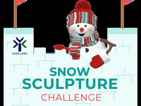 Kirkland's Snow Sculpture Challenge