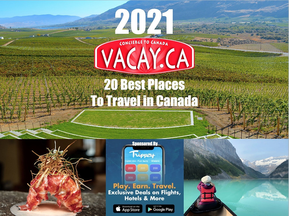 Vacay.ca 20 Best Places to Travel in Canada for 2021 (CNW Group/Vacay.ca)