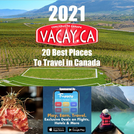 Vacay.ca Ranks 20 Best Places for Post-Pandemic Travel in Canada