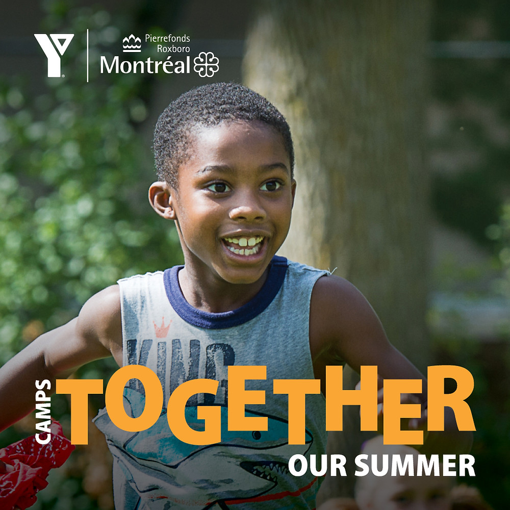 The YMCA du Québec are operating day camps in the Borough of Pierrefonds- Roxboro, Quebec. West Island parenting.