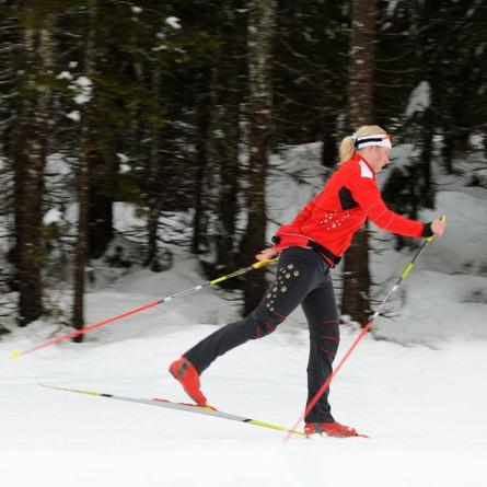 Kirkland's new cross-country ski trail
