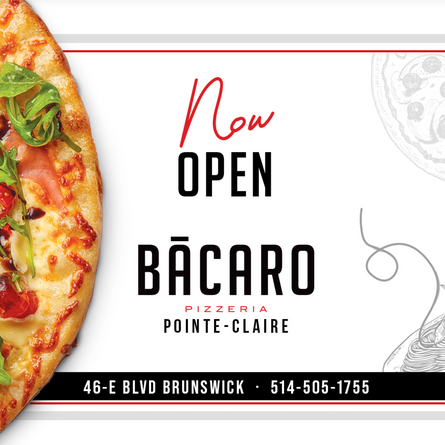 Did someone say Free Bacaro Pizza this Sunday?  WHAT?