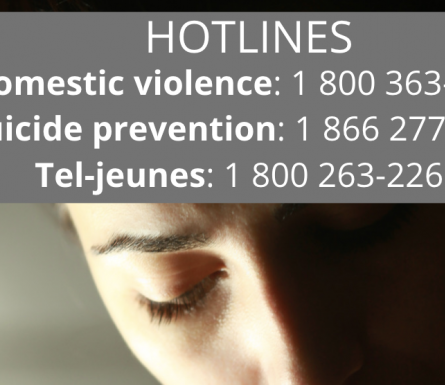 TOGETHER, STOP THE VIRUS… AND THE VIOLENCE - 24/7 Help hotlines