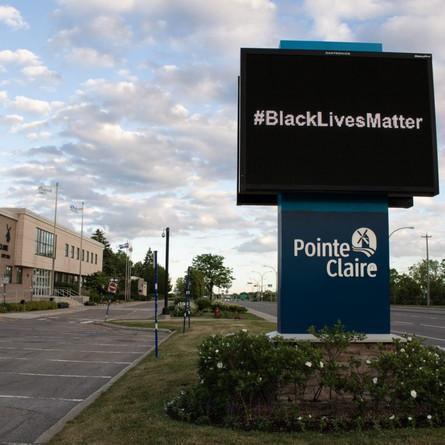 Pointe-Claire City on #BlackLivesMatter