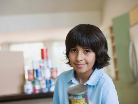 The Great Food Drive for Children - Four Moissons Join Forces to Feed Children 0-5 Years Old