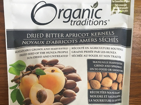 Food Recall Alert: Organic Traditions Brand Dried Bitter Apricot Kernels may cause Cyanide Poisoning