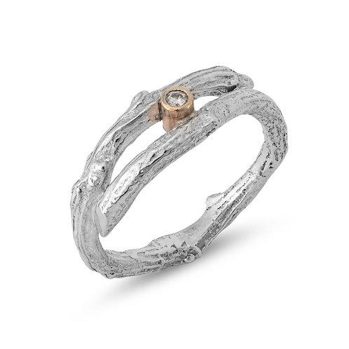 Sparkling Woodland ring