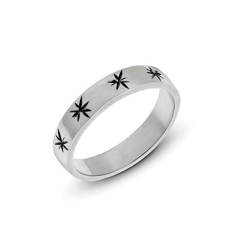 Silver ASTRAL ring