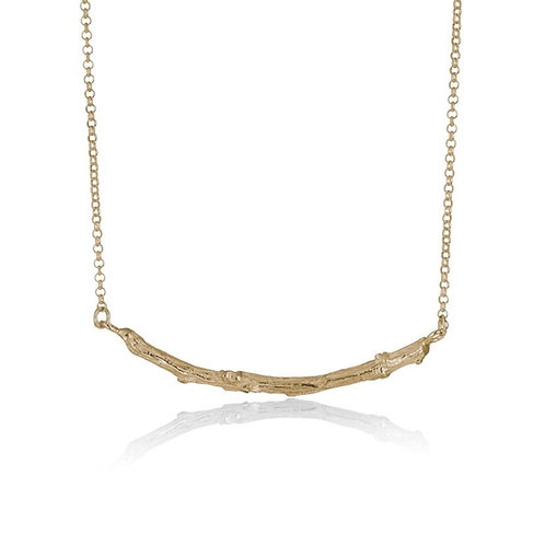 9ct yellow gold Woodland Necklace
