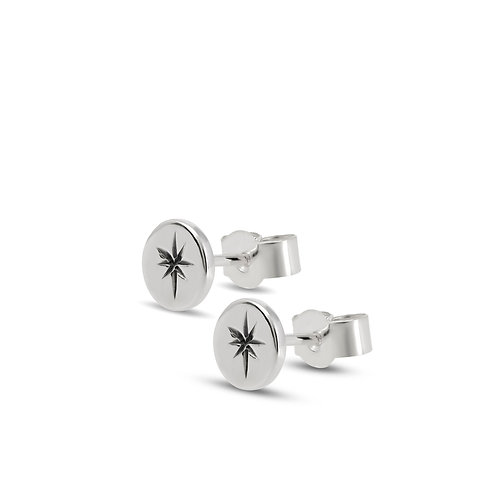 Silver ASTRAL studs