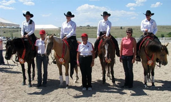 Canada's Young Rider 2008 Medal Team