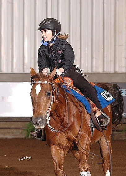 Talia's comments on riding at the NAAC in Oklahoma City, Oklahoma: