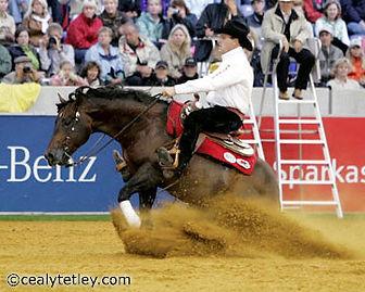 Duane Latimer - 2006 Gold Medalist from Aachen FEI World Equestiran Games.