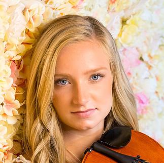 Senior Portrait in studio